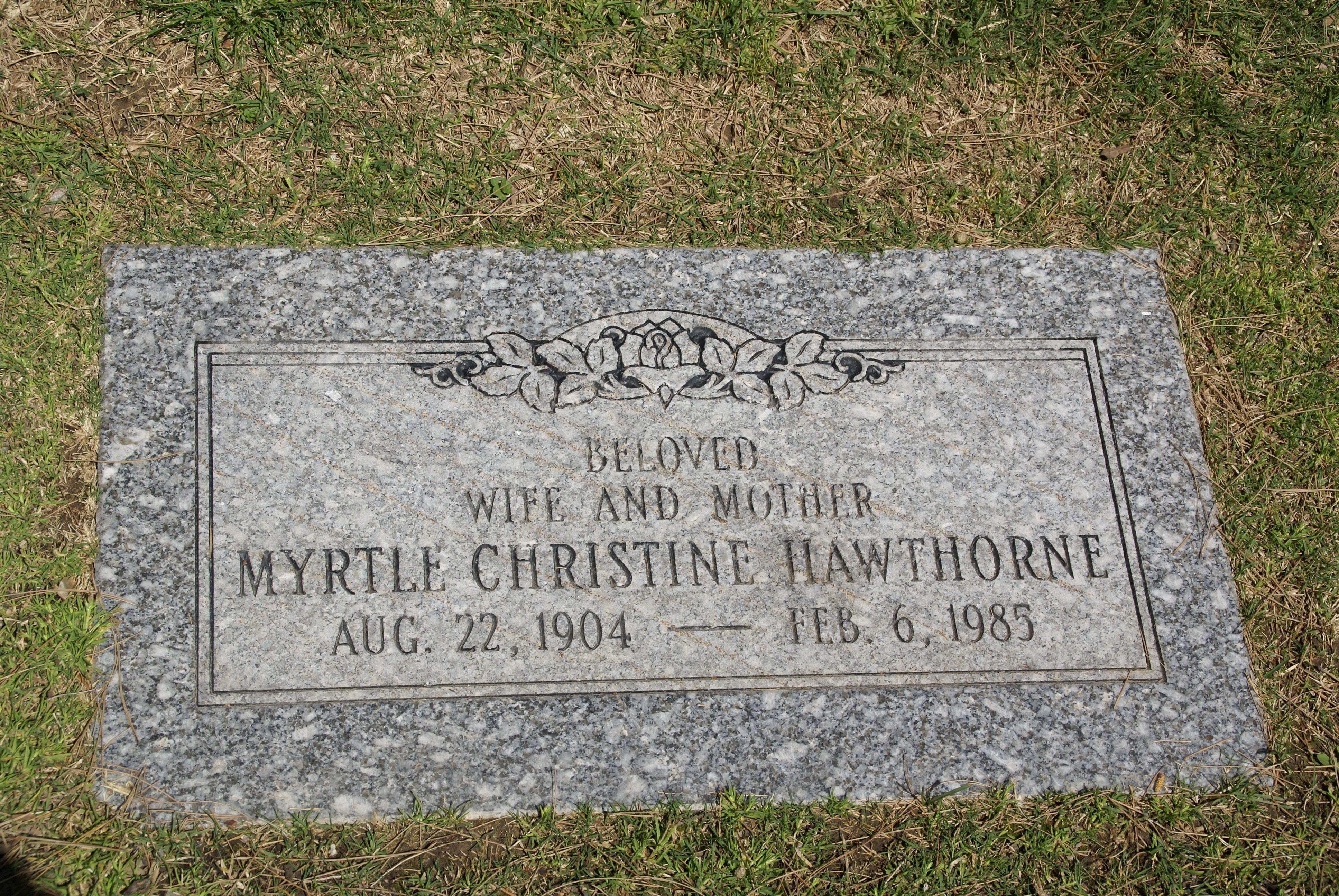 myrtle-christine-hawthorne-marker